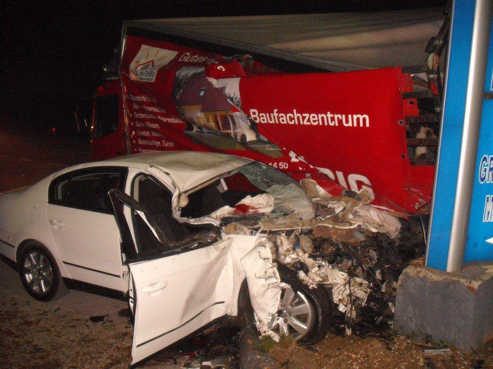 Saobracajna nesreca, Ormanica - 21.11.2012
