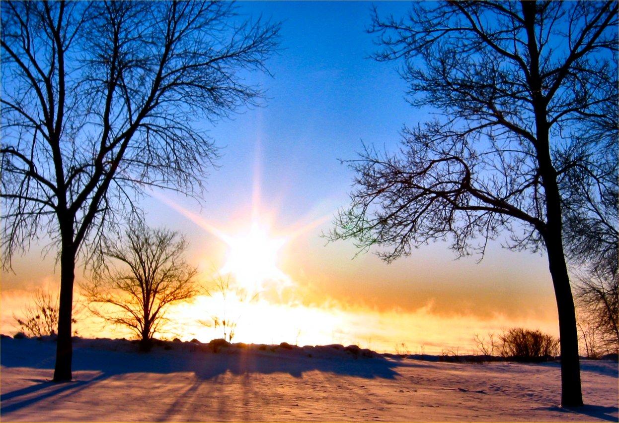Sunce u zimu