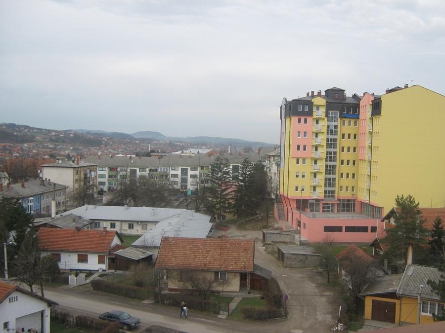 """Novosagrađena zgrada """"Nita"""" i zelena pijaca"""