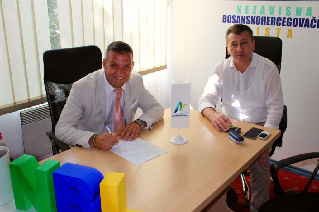 Salko Omerović - kandidat NBL-a za gradonačelnika Srebrenika
