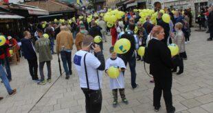 Preko 15.000 građana na protestu 5 do 12 u Sarajevu