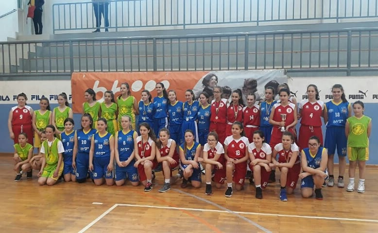 Košarkašice KK Županje osvojile međunarodni turnir u Srebreniku