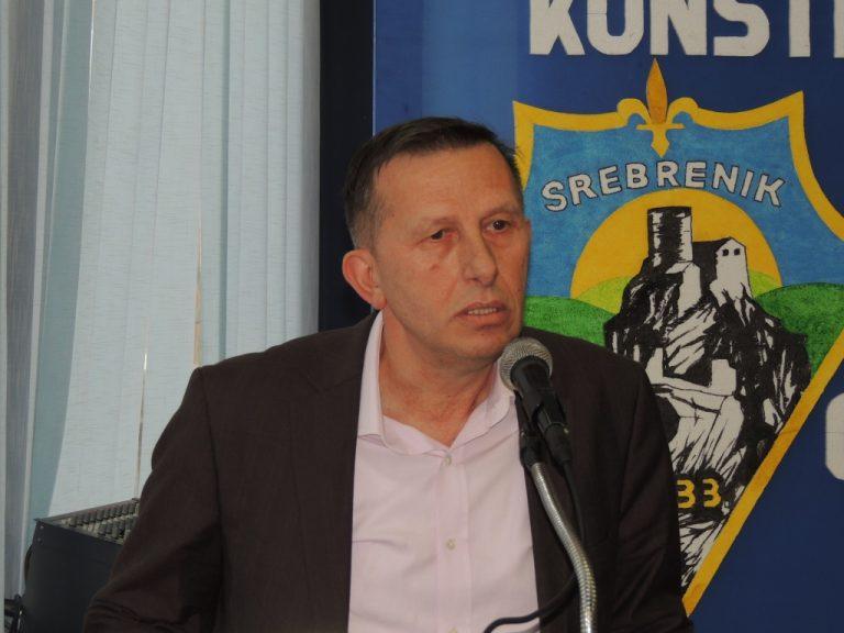 Ibrahim Zukic SDA - kandidat za gradonacelnika Srebrenika