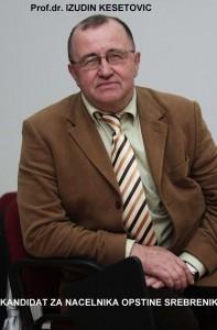 Prof. Dr. Izudin Kesetovic - Kandidat za nacelnika opcine Srebrenik