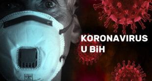 Koronavirus u BiH: 47 smrtnih slučajeva , 1633 nove infekcije