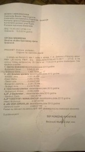 Srebrenik  plate u javnim ustanovama.