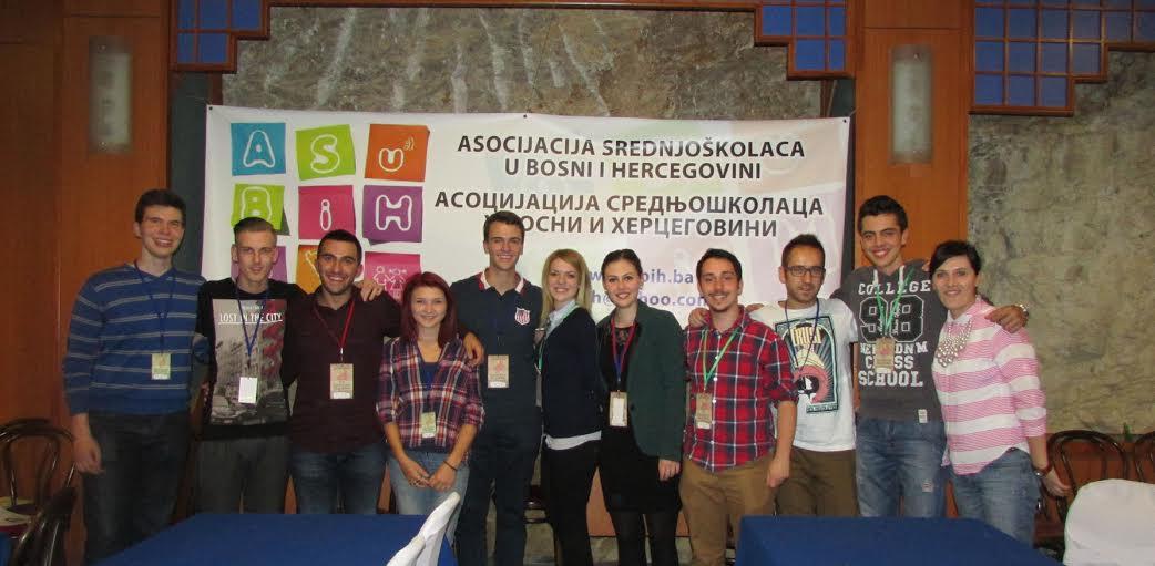 Aktuelni Upravni odbor Asocijacije srednjoškolaca u BiH