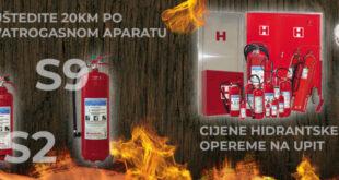 Velika akcija vatrogasnih aparata