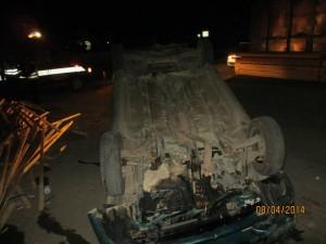"""""""Hyundai"""" na dionici magistralnog puta Srebrenik-Orašje u mjestu Ježinac"""