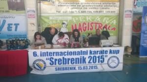 Karate kup 2015 Srebrenik
