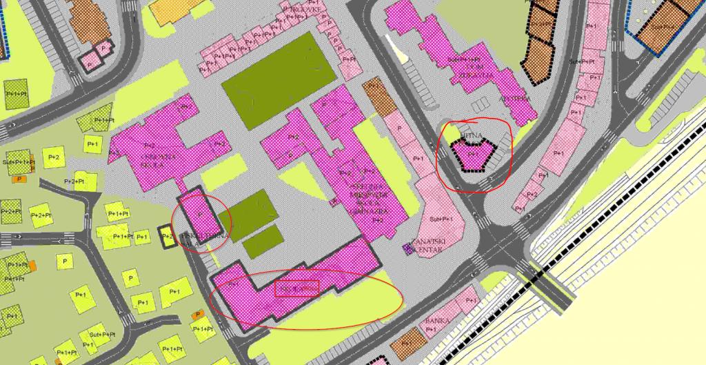 """Regulacioni plana zone """"Centar Srebrenik"""""""