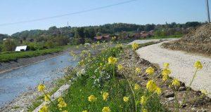 Izgradnja staze za sport i rekreaciju obalom rijeke Tinje