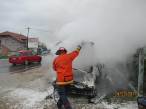 Požar u Ježincu - Srebrenik