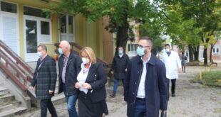 Ministar zdravstva TK posjetio Dom zdravlja Srebrenik