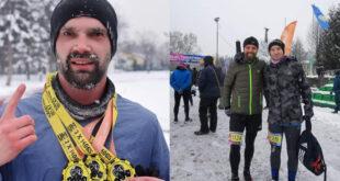 Članovi atletsko rekreativnog kluba Silver arrows trčali Unusual Marathon Sarajevo