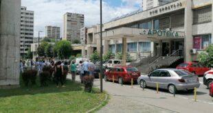 Dojava o podmetnutoj eksplozivnoj napravi u Domu zdravlja u Tuzli